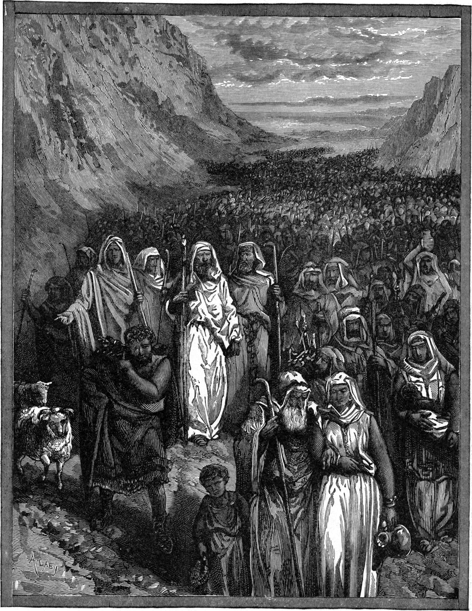 The_March_of_the_Israelites_Through_the_Wilderness