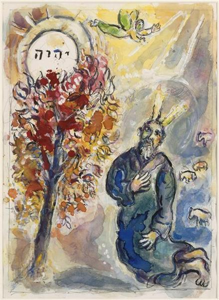 Burning-Bush-by-Chagall