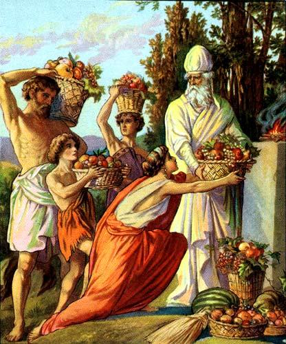 Offering_of_the_First_Fruits_bikkurim